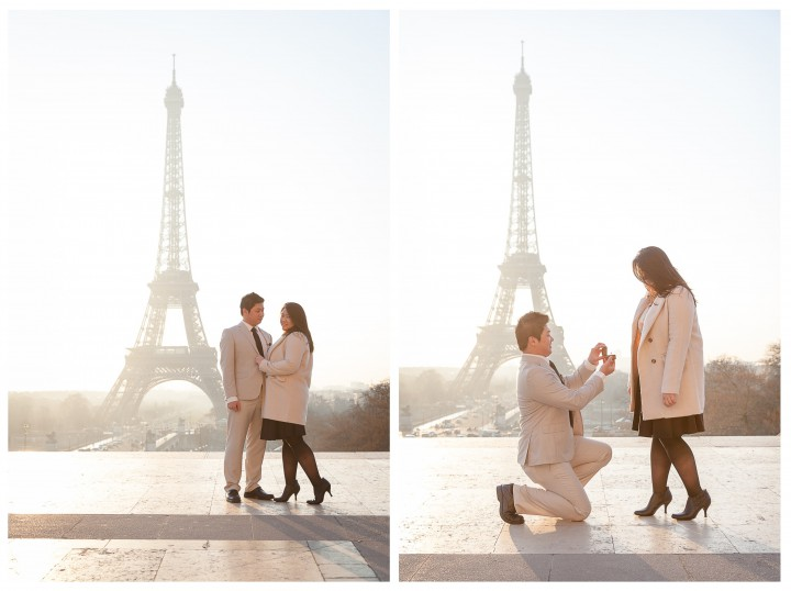 Jeremy and Sylvia surprise Proposal in Paris - Julien LB photography Paris 6 - Copie