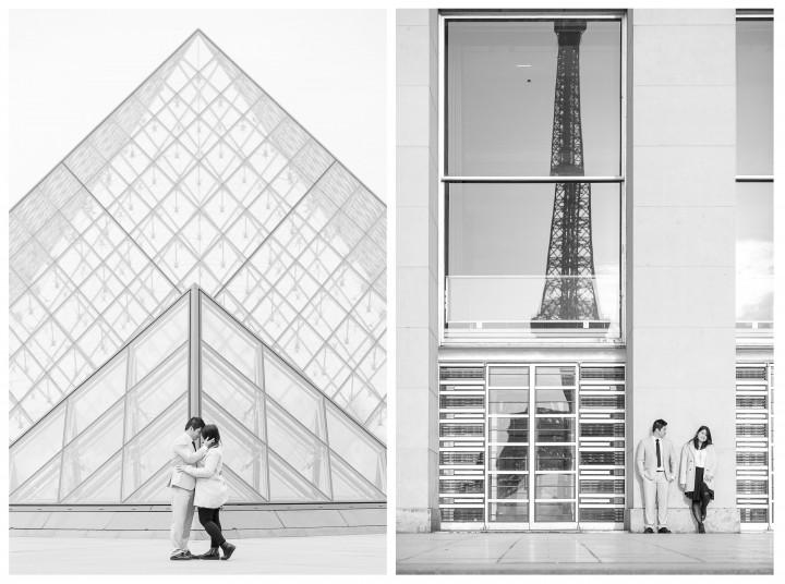 Jeremy and Sylvia surprise Proposal in Paris - Julien LB photography Paris 7 - Copie